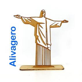 16 Figuras Del Cristo De Brasil 30 Cm En Madera Mdf 3 Mm