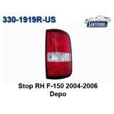 Stop Derecho Ford Fx4 F-150 2004-2006 Depo Doble Cabina