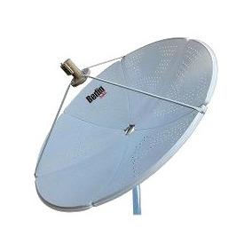 Antena Parabólica De Chapa 1,50 Cm Ku / Banda C Bedin Sat