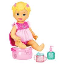 Aprendiendo A Ir Al Baño Little Mommy X1520