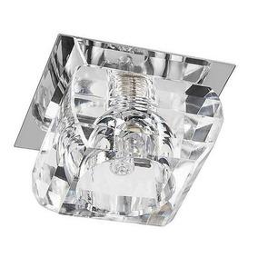 Spot Cristal K9 Semi Embutir G9 Quarto Sala Banheiro Lavabo