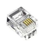Conector Rj 11 Paquete De 100 Unidades Calidad A1