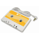Macally Cassette Tape Adaptor For Ipod/ishuffle White