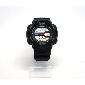 Relógio G Shock Digital Masculino Esportivo Preto Azul 60.00