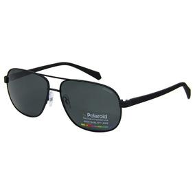 e3928f2bcd779 Óculos De Sol Polaroid 2059 Polarizado Retrô. 2 cores. R  189 90