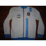 Campera Seleccion Argentina adidas 2014 Blanca Utileria!!