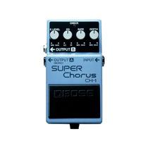 Pedal Para Guitarra Boss Ch-1 Azul Com Efeito Super Chorus