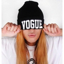 Touca Vogue Gorro Masculino Feminino Linda Confortável