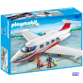 Avião Jatinho De Verão Com 42 Peças Original Playmobil 6081