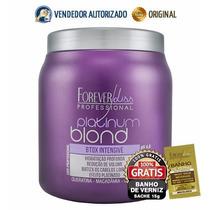 Platinum Blond Btox Intensive Matizador - 1kg Forever Liss
