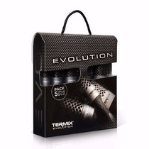 Kit Escovas Cabelos Termix Evolution Plus Caixa (5 Escovas)