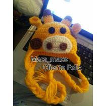 Gorros De Animales Tejidos/ Crochet Para Bebes