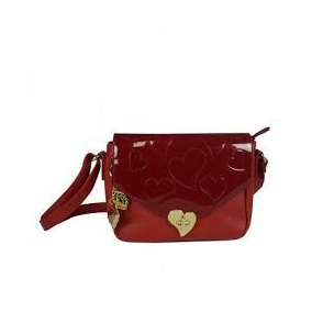 Bolsa Tranversal Vermelha Pequena Betty Boop Original Semax
