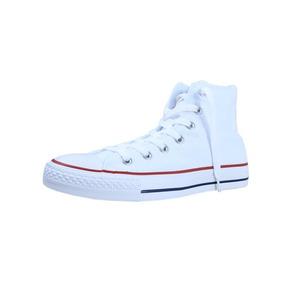 Tenis Converse All Star Blanco De Bota ¡envio Gratis!