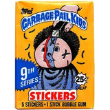 Garbage Pail Kids, Sobre Nuevo Con 5 Tarjetas, Serie 9, 1987