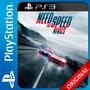Need For Speed Rivals Ps3 Digital Nº1 En Ventas De Argentina