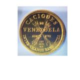 Moneda De Oro Caciques De Venezuela Oro 22k