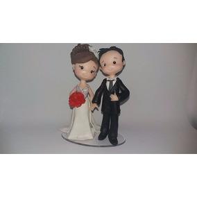 Topo De Bolo De Casamento Fofuchinho Biscuit