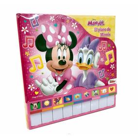 Libro Didactico Musical Minnie Con Piano Disney