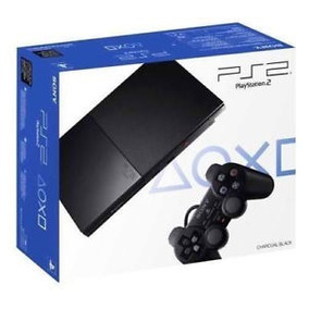 Console Sony Playstation 2 Ps2 Slim Na Caixa Desbloqueado
