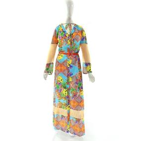 Vestido Longo Moda Evangélica Joyaly 42 Ao 46