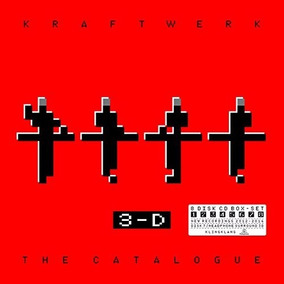 Kraftwerk 3-d: The Catalogue Box Con 8 Cd Nuevo Importado