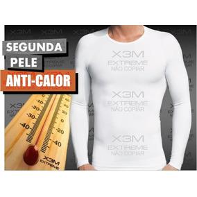 b787454455 Camiseta Térmica Segunda Pele Verão Proteção Uv +50 Extreme