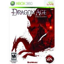 Jogo Dragon Age Origins Ntsc Original Em Dvd Para Xbox 360