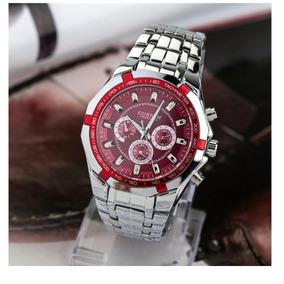 02a11734808 Relogio De Fundo Vermelho Ou Masculino - Relógios De Pulso no ...
