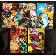 Demon Slayer -tomos 1 Al 5 -kimetsu No Yaiba - Manga - Ivrea