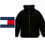 Chaqueta Tommy Hilfiger Original Hombre Talla L 0177 Negra