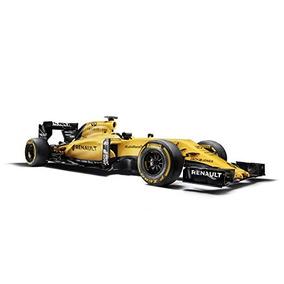 Renault R.s.16 (2016) Del Coche De Carreras De Impresión El