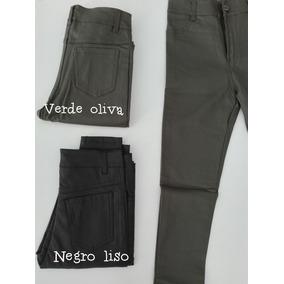 Pantalon Negro Tipo Cuero Talles Grandes Lo Ultimo!