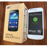 Samsung Galaxy Ace 3 Blanco Nuevo Original