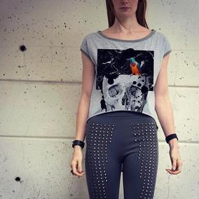 Blusa Skull Bird Ropa Mexicana Mecanico Jeans