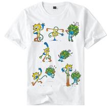 Camisa Camiseta Olimpíadas Rio 2016 Mascotes Vários Modelos