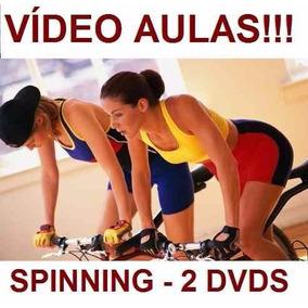 Curso De Spinning Aulas Em 2 Dvds Qwe