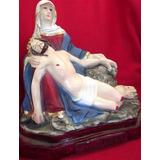 Imagen Religiosa La Piedad Miguel Angel Escultura Color 30cm