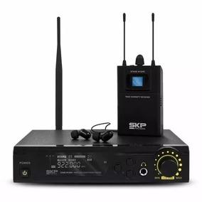 Sistema De Monitoramento Retorno Skp Stage In Ear Sem Fio