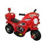Moto Elétrica Infantil Bz Cycle Cor Vermelha 6v - Importway