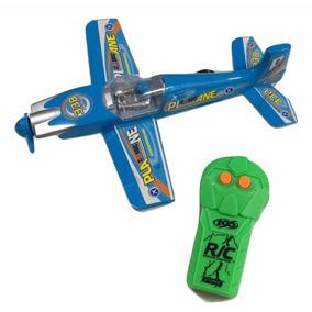 Brinquedo Aviao Com Controle Remoto 19 X 23cm Conforme Foto