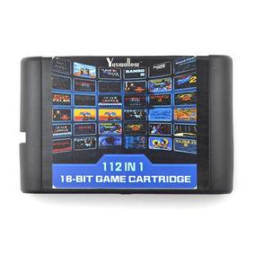 112 Em 1 Mega Drive Genesis Tectoy Everdrive Sonic Sega