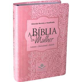A Bíblia Da Mulher Média Ra Leitura Devocional Estudo Rosa