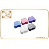 Orthobox - Caja Porta Aparatos Retenedores Con Calcomanía