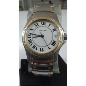 Reloj Cartier Santos Ronde, Acero-oro, Automatico, Muy Bueno