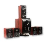 Sistema De Sonido 5.1 Noganet Hts-45 Potencia De 100w Rms