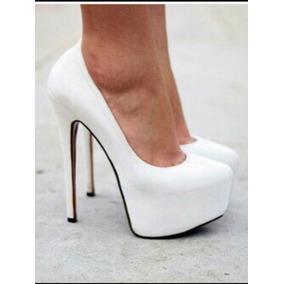 Sapato Branco Noiva - Salto 14cm , Frete Grátis!