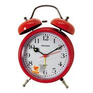 Reloj Despertador Tressa Vintage Campanas Joyeria Esponda