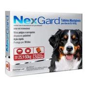 Antipulgas  Nexgard 25 A 50kg 3 Cp Lacrado Original