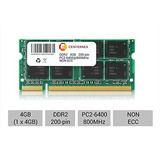 4gb Ddr 2 Módulo Portátil Notebook 200 Pin Ddr-2 De 4 W194
